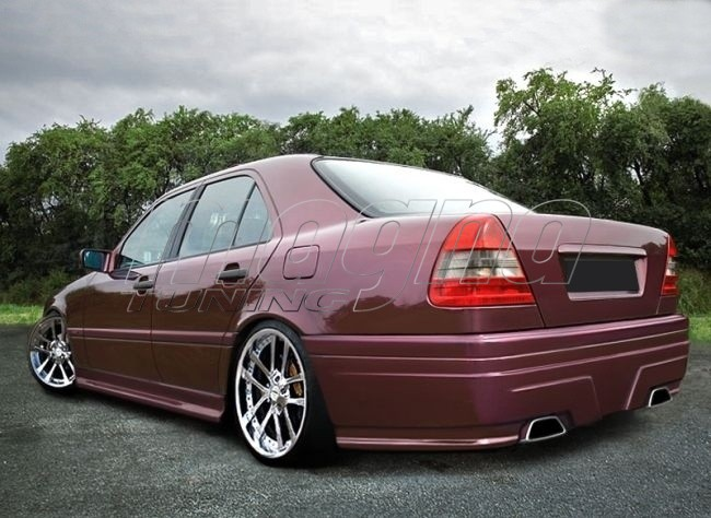Mercedes c class w202 m style body kit for Mercedes benz c300 body kit