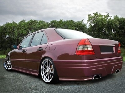 Mercedes C-Class W202 M-Style Side Skirts