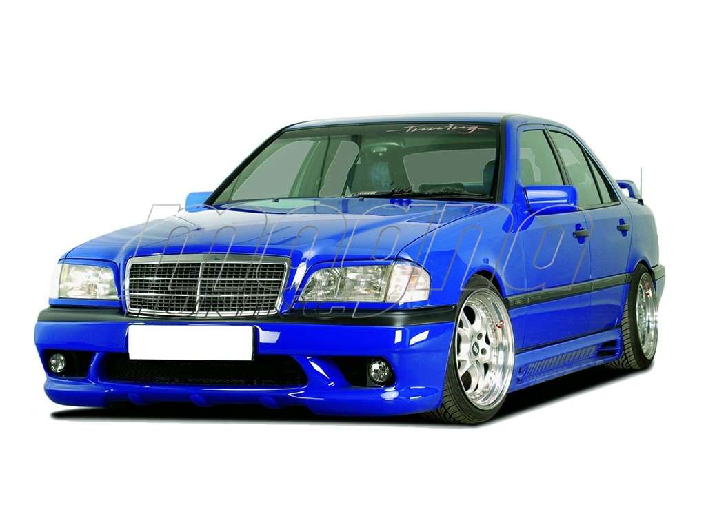 Mercedes c class w202 r2 body kit for Mercedes benz c300 body kit
