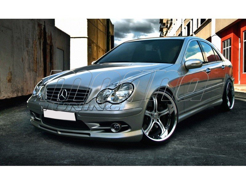 Mercedes c class w203 a2 body kit for Mercedes benz c300 body kit