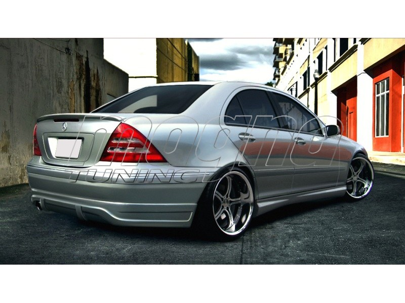 mercedes c class w203 a2 rear bumper. Black Bedroom Furniture Sets. Home Design Ideas