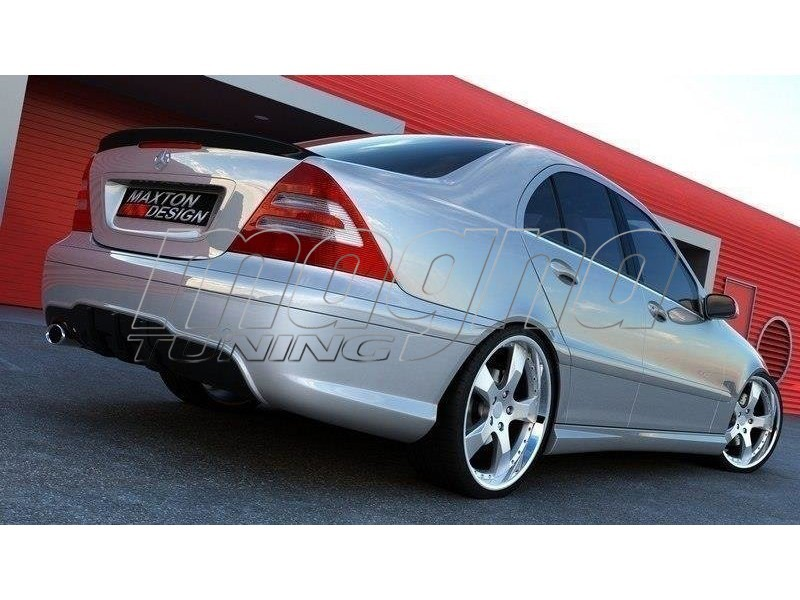 Mercedes c class w203 amg style body kit - Mercedes c class coupe body kit ...
