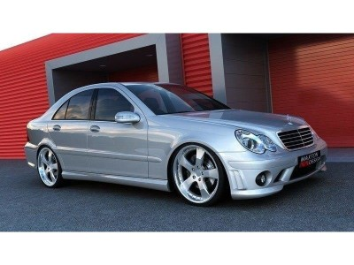 Mercedes C-Class W203 AMG-Style Front Bumper