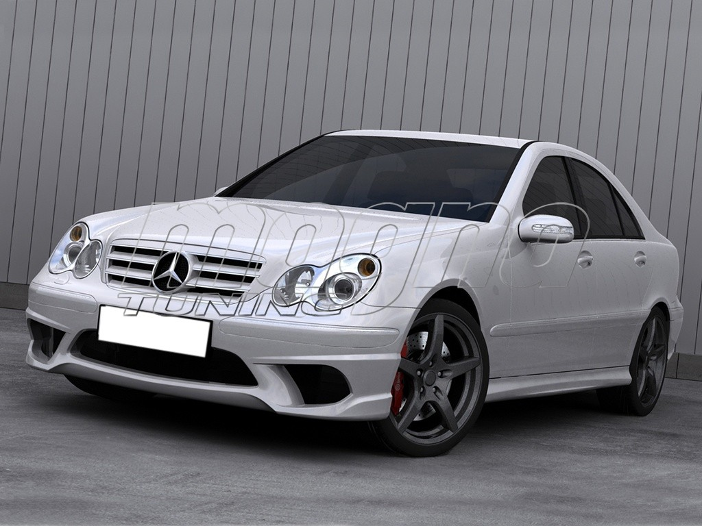 Mercedes c class w203 body kit storm for Mercedes benz c300 body kit