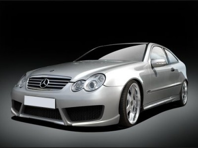 Mercedes C-Class W203 Coupe Body Kit RaceLine