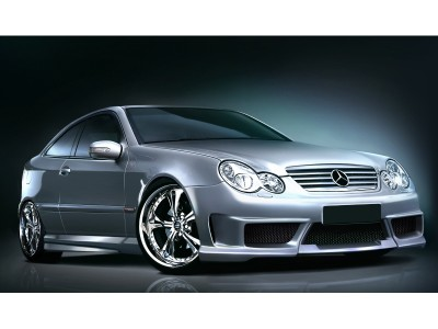 Mercedes C-Class W203 Coupe Body Kit Street