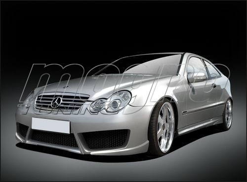 Mercedes C Class W203 Coupe Raceline Body Kit
