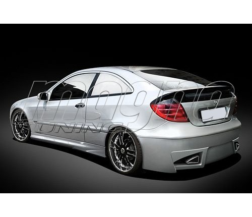 Mercedes c class w203 coupe raceline body kit for Mercedes benz c300 body kit