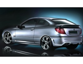 Mercedes C-Class W203 Coupe Street Rear Bumper