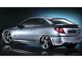 Mercedes C-Class W203 Coupe Street Rear Wing