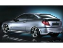 Mercedes C-Class W203 Coupe Street Side Skirts