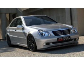 Mercedes C-Class W203 MX Front Bumper Extension