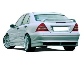 Mercedes C-Class W203 RX Rear Bumper Extension