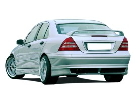 Mercedes C-Class W203 RX Side Skirts