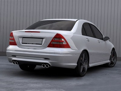Mercedes C-Class W203 Storm Side Skirts