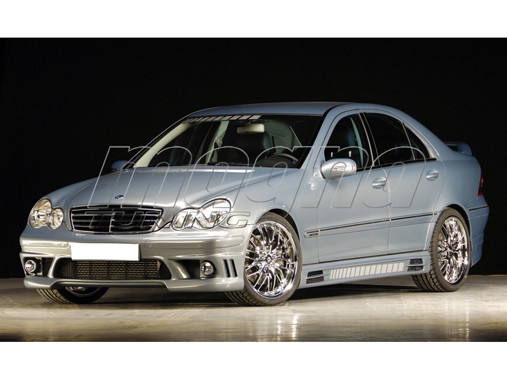 Mercedes c class w203 vortex body kit for Mercedes benz c class body kit