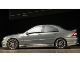 Mercedes C-Class W203 Vortex Side Skirts