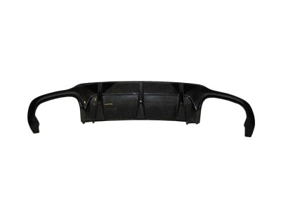 Mercedes C-Class W204 C36 AMG DTS Carbon Fiber Rear Bumper Extension
