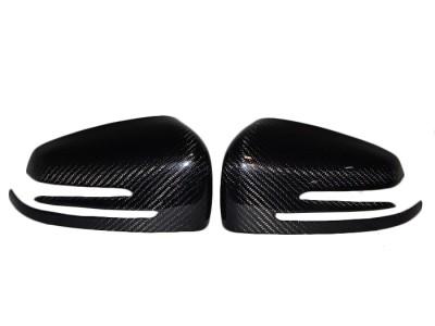 Mercedes C-Class W204 Capace Oglinzi Exclusive Fibra De Carbon