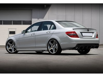 Mercedes C-Class W204 Deluxe Rear Bumper Extension