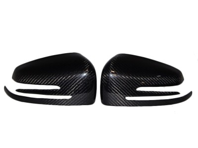 Mercedes C-Class W204 Exclusive Carbon Fiber Mirror Covers