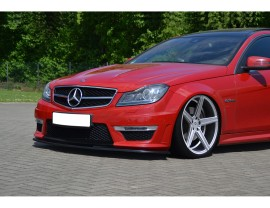 Mercedes C-Class W204 Facelift AMG Intenso Front Bumper Extension