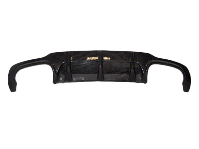 Mercedes C-Class W204 Facelift AMG-Look Carbon Fiber Rear Bumper Extension