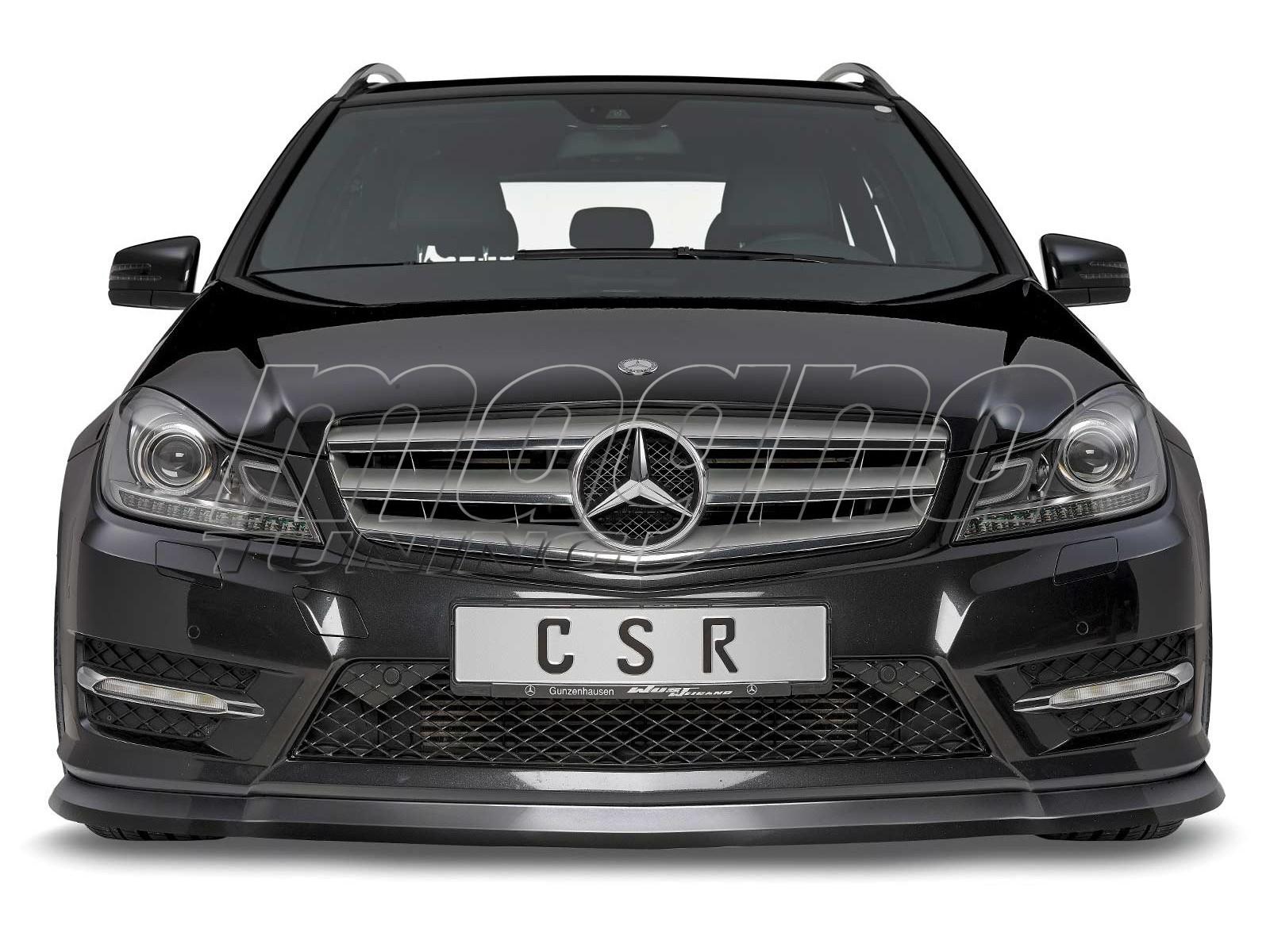 Mercedes C-Class W204 Facelift CX  Front Bumper Extension