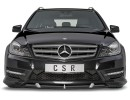 Mercedes C-Class W204 Facelift Crono Front Bumper Extension
