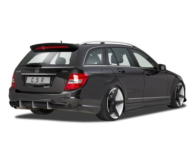 Mercedes C-Class W204 Facelift Crono Rear Bumper Extension