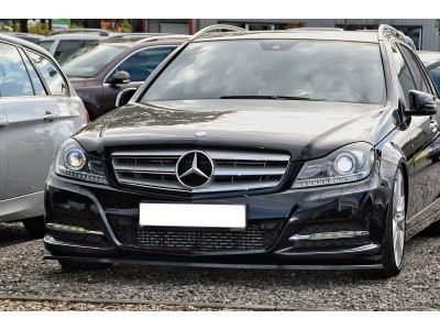 Mercedes C-Class W204 Facelift Invido Front Bumper Extension