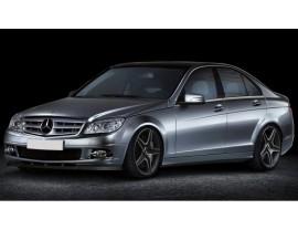 Mercedes C-Class W204 M-Style Front Bumper Extension