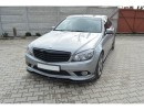 Mercedes C-Class W204 MX Front Bumper Extension