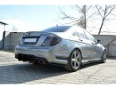 Mercedes C-Class W204 MX Rear Bumper Extension
