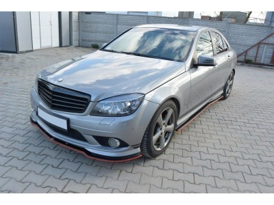 Mercedes C-Class W204 MX Side Skirts