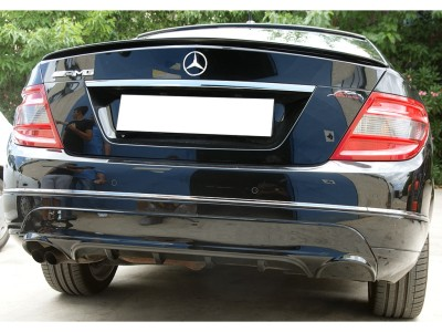 Mercedes C-Class W204 Master Rear Bumper Extension