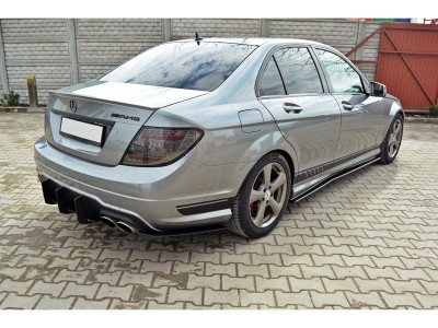 Mercedes C-Class W204 RaceLine Rear Bumper Extension