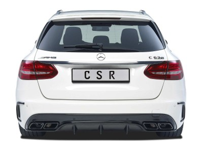 Mercedes C-Class W205 AMG Citrix Rear Bumper Extension
