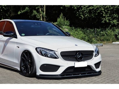 Mercedes C-Class W205 C43 AMG Intenso Front Bumper Extension