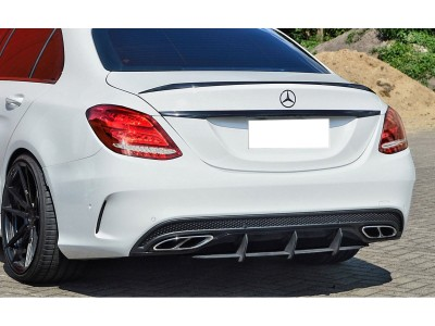Mercedes C-Class W205 C43 AMG Intenso Rear Bumper Extension