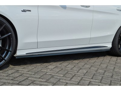 Mercedes C-Class W205 C43 AMG Intenso Side Skirt Extensions