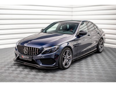 Mercedes C-Class W205 C43 AMG Master Front Bumper Extension
