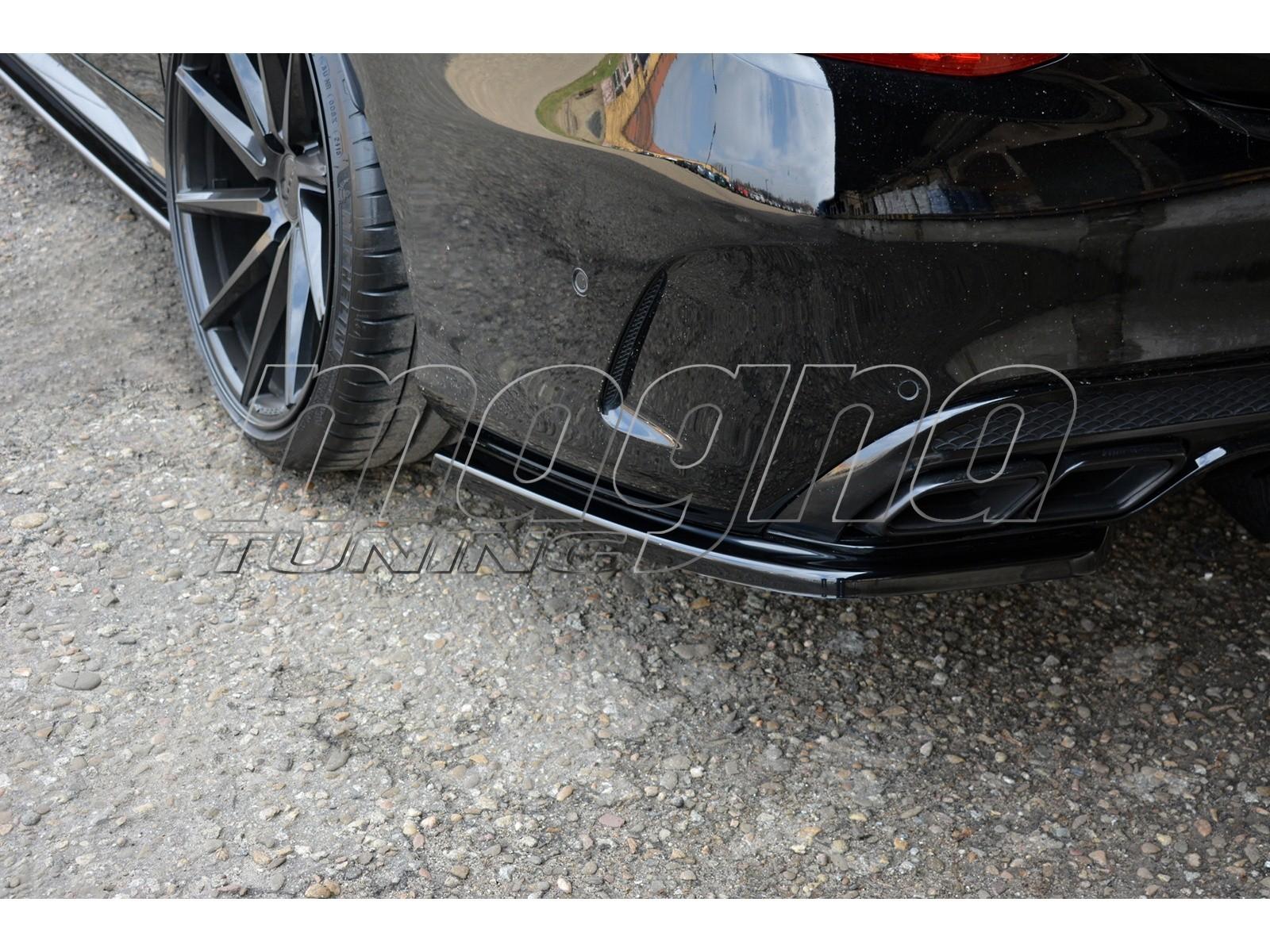 Mercedes C-Class W205 C43 AMG Master Rear Bumper Extensions