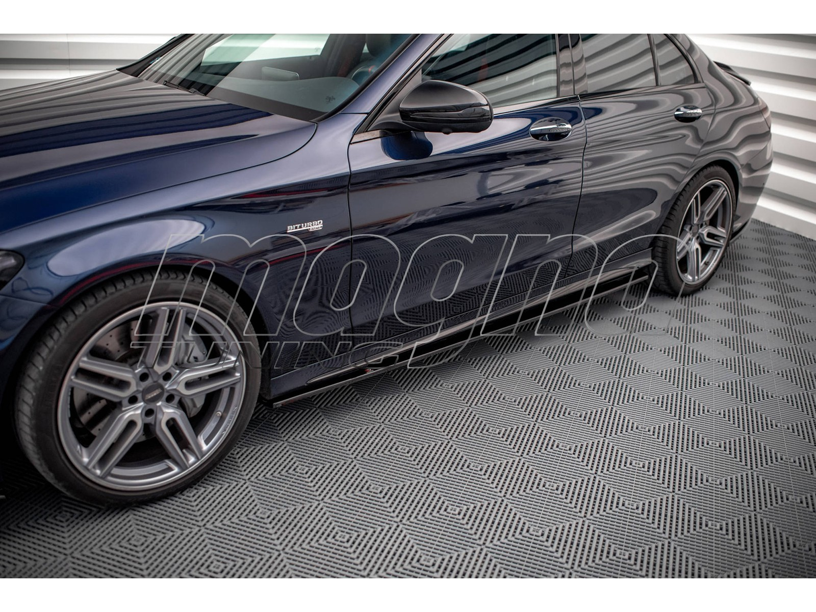 Mercedes C-Class W205 C43 AMG Master Side Skirts