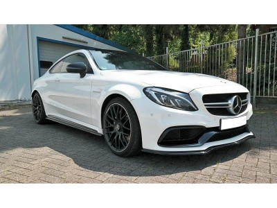 Mercedes C-Class W205 C63 AMG MX Front Bumper Extension