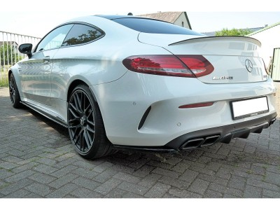 Mercedes C-Class W205 C63 AMG MX Rear Bumper Extension