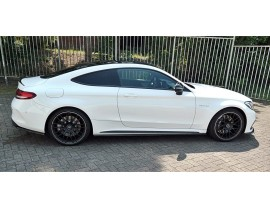Mercedes C-Class W205 C63 AMG MX Side Skirt Extensions