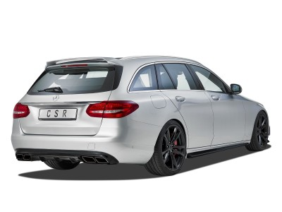 Mercedes C-Class W205 Crono Rear Bumper Extension