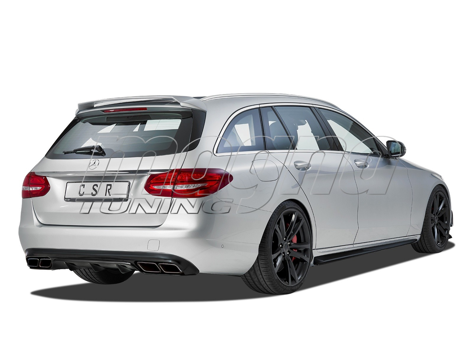 Mercedes C-Class W205 Crono Side Skirts
