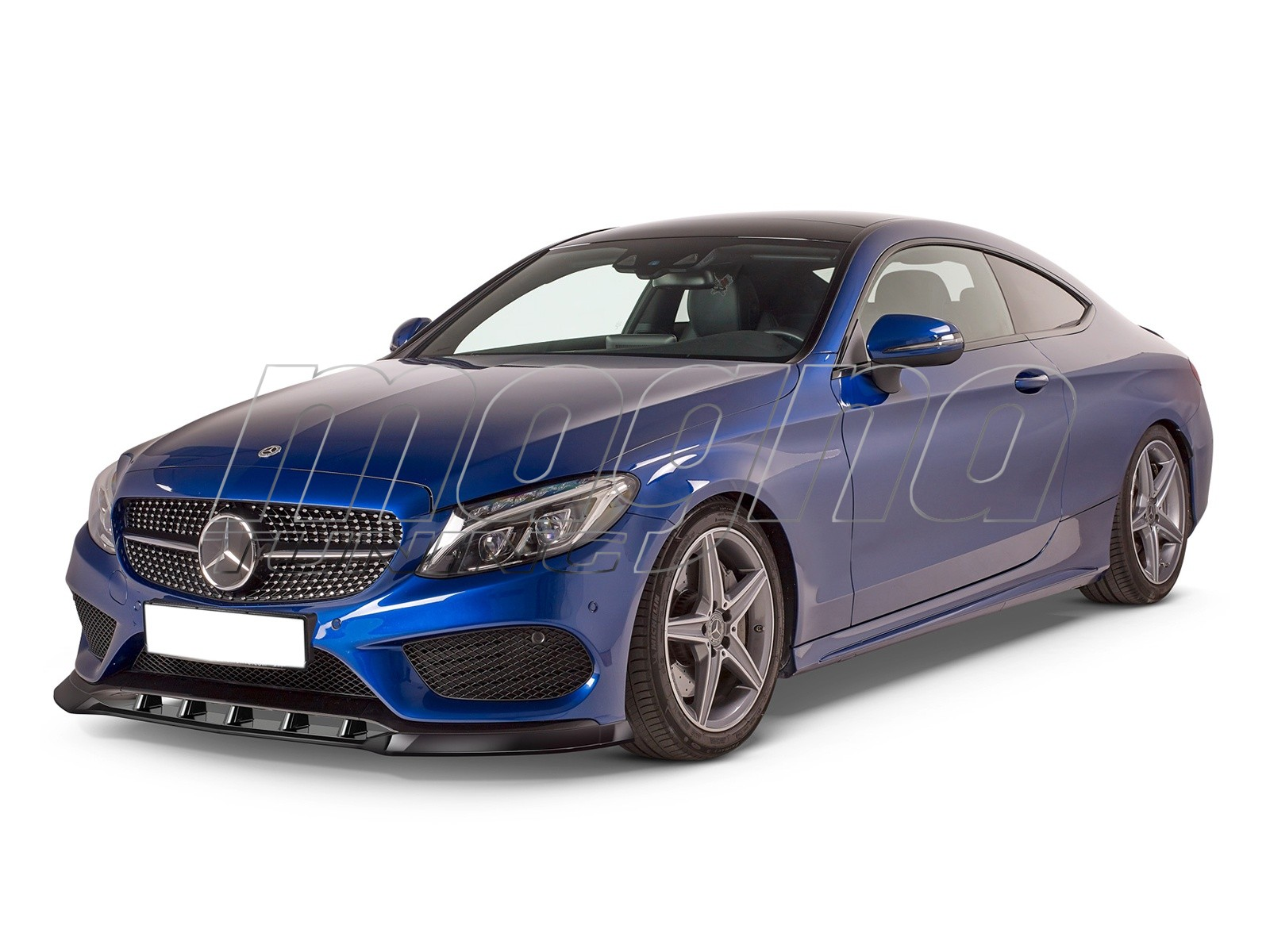 Mercedes C-Class W205 Cryo Front Bumper Extension